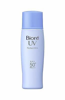 Kao BIORE UV Perfect Milk Sunscreen Face Body SPF50+ Waterproof made in Japan