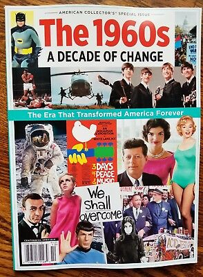 AMERICAN COLLECTOR'S SPECIAL ISSUE ~ THE 1960s ~ A DECADE OF CHANGE