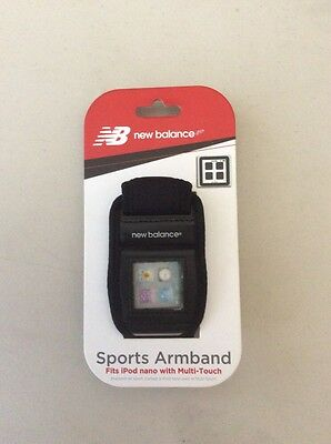 New Balance Sports Armband Fits iPod nano with Multi-Touch Sports Monitor