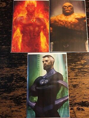 Fantastic Four #1, 2, 3 Artgerm Virgin Variant  Exclusive Free Combine Shipping