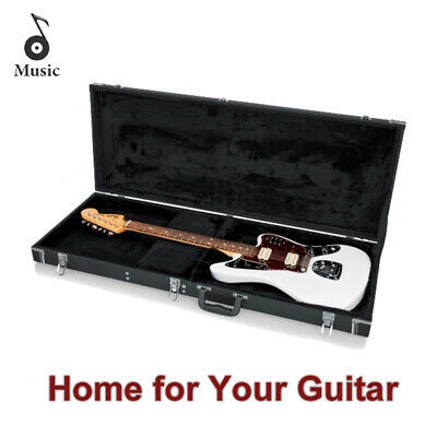 Electric Bass Guitar Hard Case Fits Most Standard Electric Bass Guitars