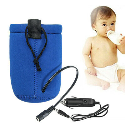 Baby Milk Food Water Drink Bottle Cup Warmer Heater For Car Travel Universal