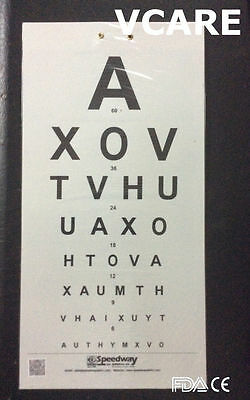 Distant Vision Charts (FDA & CE) Vision Testing Chart (set of 3)
