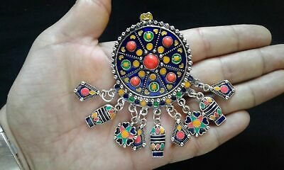Islamic Jewelry-Ottoman Brooch Hand Silver Filigree Turkish