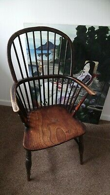 Antique Windsor Chair, Traditional Old Chair
