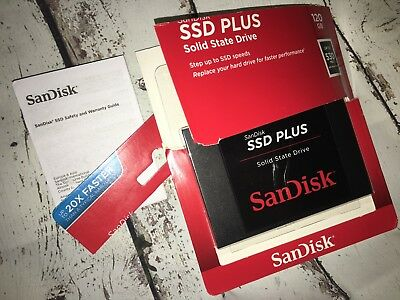 SanDisk SDSSDA-120G-G26 Internal SSD Plus | 120GB | Solid State Drive