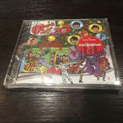 2 BONUS TRACKS----> THE MONKEES Christmas Party TARGET CD Is My Time
