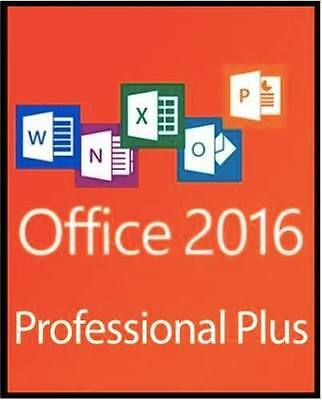 Microsoft Office 2016 Professional Plus Vl 32/64 Bit Esd - Originale Fatturabile