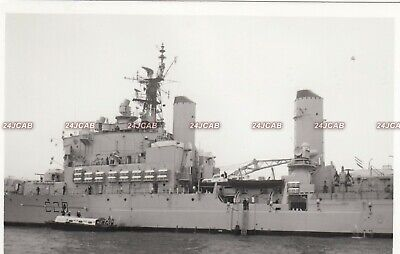 "Original Photograph Royal Navy. HMS ""Tiger"" Guided missile Cruiser. Fine! 1977"