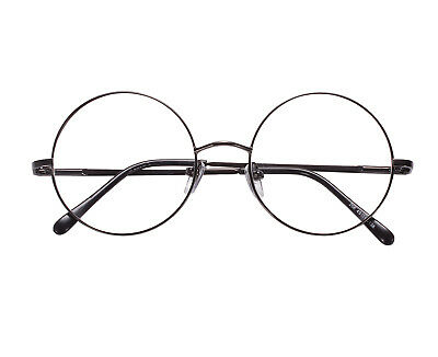 72f3a1fa3614c Agstum Oversized Retro Vintage Harry Potter Round Eyeglass Frame Spectacles  Clea