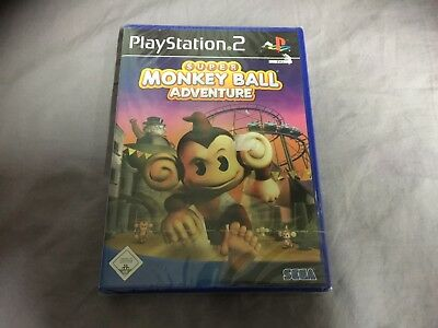 Super Monkey Ball Adventure PlayStation 2 Ps2 Neu Factory Sealed