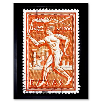 ARMS FINLAND VINTAGE POSTAGE STAMP PHILATELY PHOTO ART PRINT POSTER BMP1308A