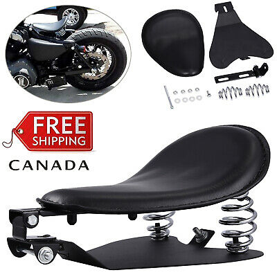 """Motorcycle Solo Seat 3""""Spring Bracket Base Kit For Harley 48Sportster XL883 1200"""