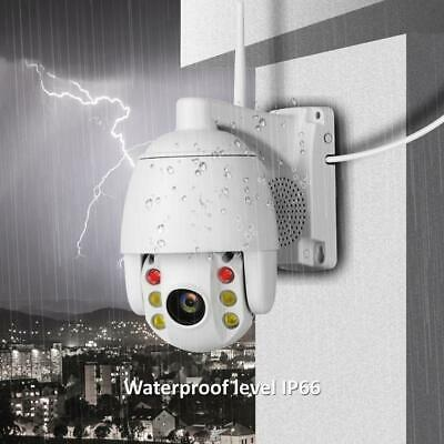 Outdoor Waterproof WiFi PTZ Pan Tilt 2MP HD Security IP IR Camera Night Vision