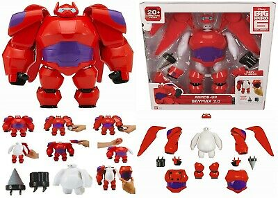"""With Box 15cm 6/"""" Big Hero 6 Armored Baymax Anime Action Figure Tall Toy Doll"""