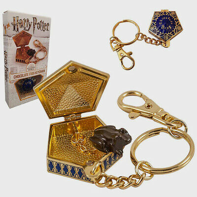 Harry Potter Chocolate Frog Keychain Keyring Replica The Noble Collection