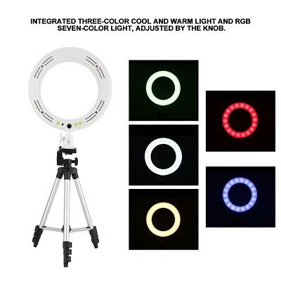 Portable 6-10Inch LED SMD Ring Fill Light +Stand Dimmable LED Fill Light Set