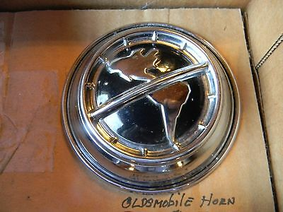 OEM NOS 1952 1953 OLDSMOBILE HORN RING BUTTON,Retainer & Contact Ring Assy 54 55