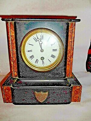 Small Mantle Clock Marble/Slate