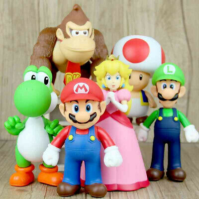 New Super Mario Bros. Odyssey Collectible Plastic PVC Action Figure Doll Toy
