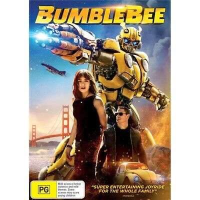 BUMBLEBEE-DVD-Region 4-New AND Sealed