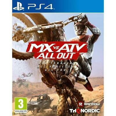 Mx Vs Atv All Out - PS4 IMPORT neuf sous blister