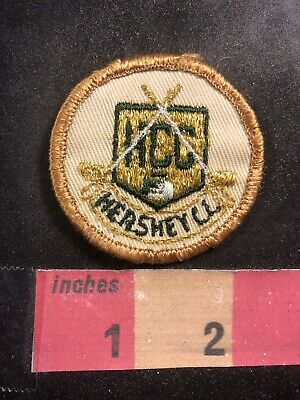 Vintage HCC HERSHEY COUNTRY CLUB Golf Patch O94S