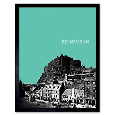 PHOTO LANDMARK GREY FRIARS BOBBY STATUE EDINBURGH ART PRINT POSTER MP3929B