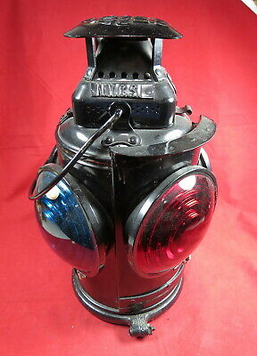 Marker Lamp - New York Central System Adlake 4-Lens Style - Never Used / Mint !