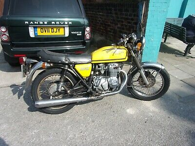 honda cb 400 4 running riding project bike interesting cbr registration