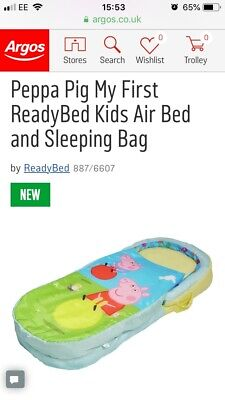 peppa pig ready bed brand new in box unused