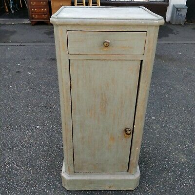 Antique pine pot cupboard