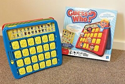Guess Who? The Original Guessing Game Hasbro 2011 Kids Age 6+