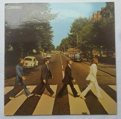 THE BEATLES - ABBEY ROAD - 33t - Y C 066 04243 - VG+/VG+