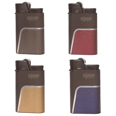 "4 x Djeep ""Soft Touch"" Lighters, Original & Brand New, Same Day Express Shipping"