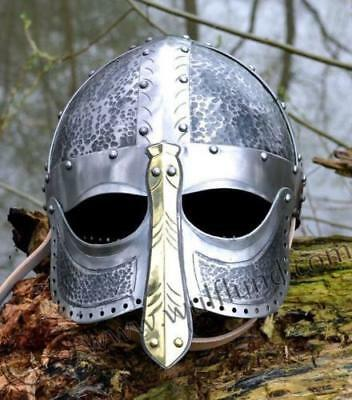 Collectibles Medieval 18 G Iron Historical Viking Battle Armor Helmet Replica