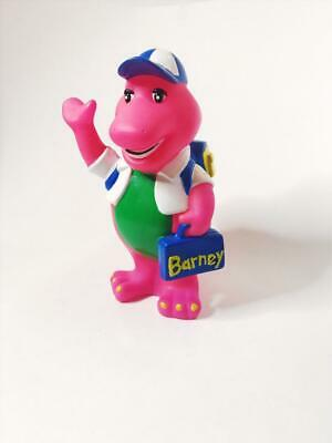 Vintage Barney the Dinosaur Bank Plastic Penny Bank The Purple Dinosaur 1992