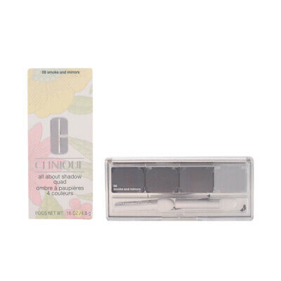 Maquillaje Clinique mujer ALL ABOUT SHADOW quad #09-smoke and mirrors 4.8 gr