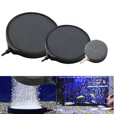 Air Stone Disk Bubble Diffuser Aquarium Pond Pump Hydroponics Oxygen Diffusers