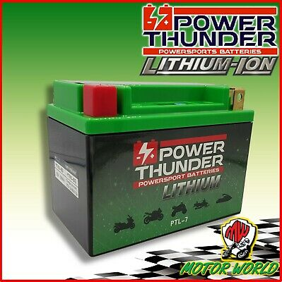 Batteria LITIO Lithium YTX9-BS POWER THUNDER SUZUKI Burgman 400 1998 - 2002