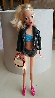My scene Barbie Doll. Blonde hair with outfit. Shoes and bag