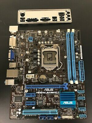 ASUS P8H61-M LE/CSM R2 0 Motherboard w/CPU/Fan/Video Card