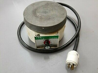 VWR Scientific Dylatherm Hot Plate Laboratory 33918-432 Tested Working