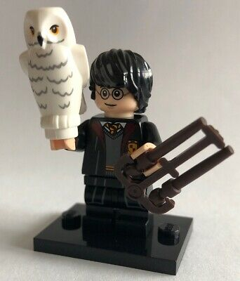 Genuine Lego Minifigure - Harry Potter In School Robes - 2018 - COLHP-1