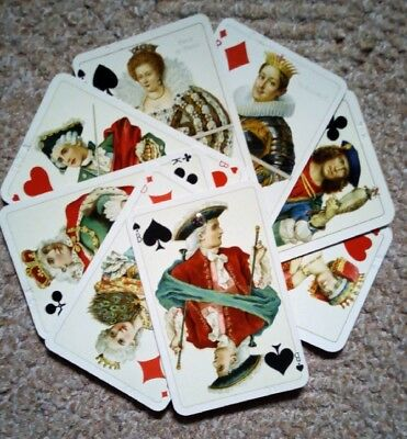 ♥ ♥ ♥ ANTIQUE PLAYING CARDS 8 Musterkarten Spielkarten Dondorf Frankfurt ♥ ♥ ♥