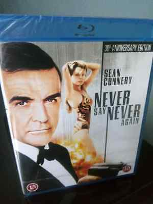 NEVER SAY NEVER AGAIN (1983) Blu-ray *Region free* Anniversary Edition