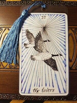 Bookmark, The Wild Unknown Tarot Deck Card, The Lovers, New, Gift, B-Day