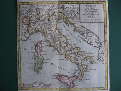1750 - VAUGONDY - Small map ITALY  Italia