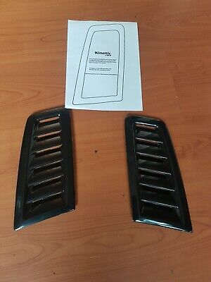 Fiesta mk 7 RS MK2 style ABS plastic bonnet vents universal Exact OE