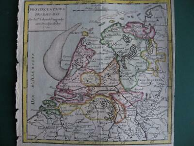 1750 - VAUGONDY - Small map NETHERLANDS  BRABANT